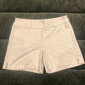 White House Black Market Pattern Shorts